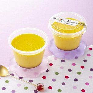 話題性的日本7-11新改版甜點☆「窯烤 入口即化生卡士達布丁」