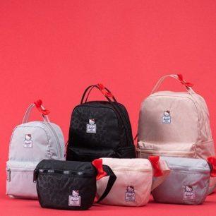 Hello Kitty x「Herschel Supply」可愛別緻的4種聯名包款☆2月中旬上市販售
