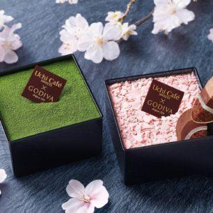 賞櫻絕配甜點組✿LAWSON便利商店1週限定「Uchi Café × GODIVA  Le Japone du Printemps」