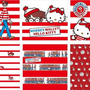 三麗鷗×威利在哪裡?「WHERE'S WALLY? HELLO KITTY」聯名商品系列即將上市♡