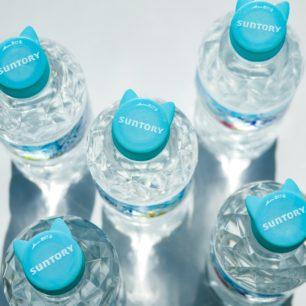 由衷祈求商品化!!SUNTORY天然水「貓咪瓶蓋」再進化~共8種用途